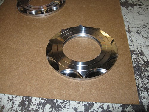 part machined in separate setup