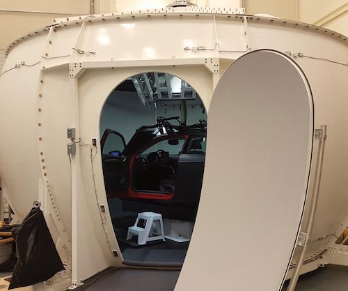 Composites for virtual reality-based testing