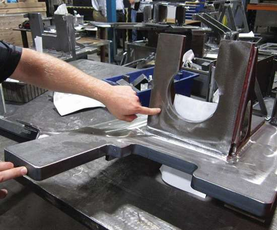 weldment part