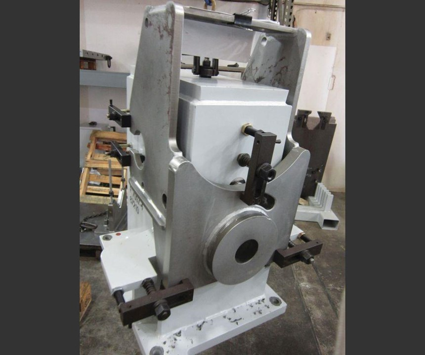fixtured weldment