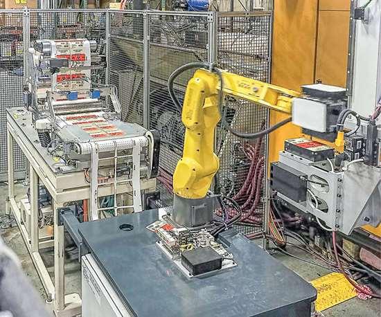 six axis robot