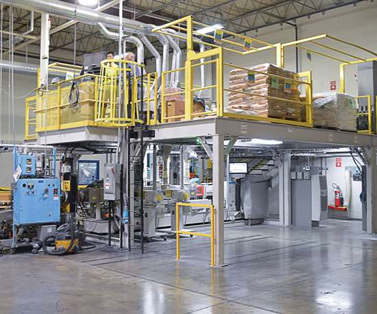 Henkel twin screw extrusion line