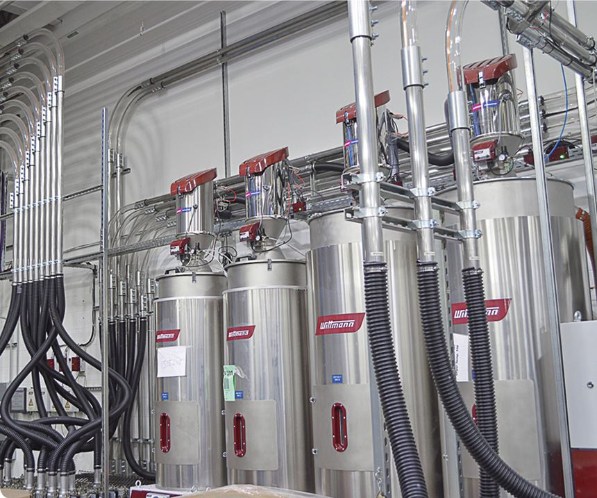 Wittman Battenfeld central drying system