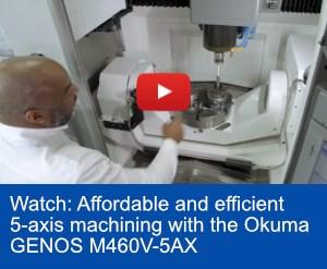 Okuma GENOS M460V 5-axisvideo
