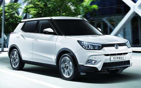 The SsangYong Tivoli. This and other models from the South Korean OEM will be fitted with diesels equipped with a cold-start system from BorgWarner.