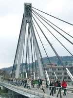 Stork Bridge in Winterthur Switzerland