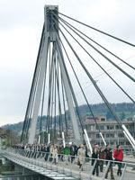Stork Bridge in Winterthur Switzerland