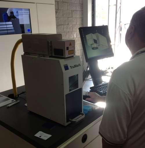 Trumpf's TruMark laser marking system