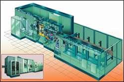 12-station rotary transfer machine