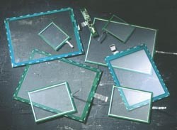 Fujitsu resistive touch screens