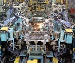 Honda of America Manufacturing's new weld shop
