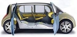 The Renault Ellypse minivan concept