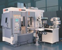 Mazak's IVS 300 turning center