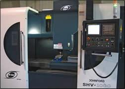High-speed machining center