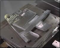 Aluminum aircraft component