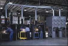 media filtration collectors