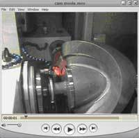 S40 slowly rotates
