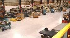 Molding department
