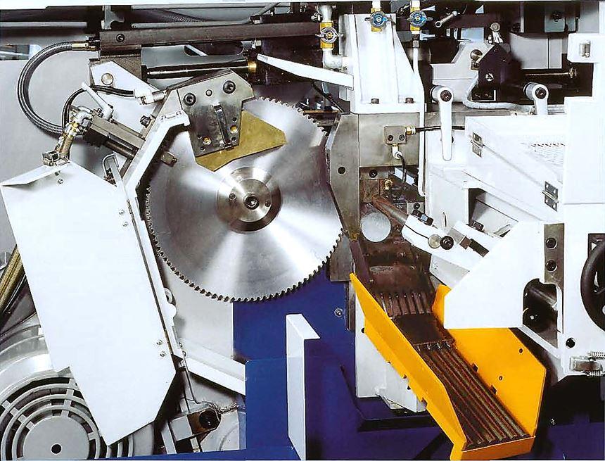 DoAll nonferrous circular carbide saw