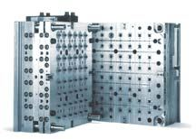 Injection blow molds