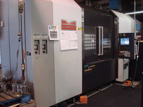 Mori Seiki NT4250 Turn/Mill