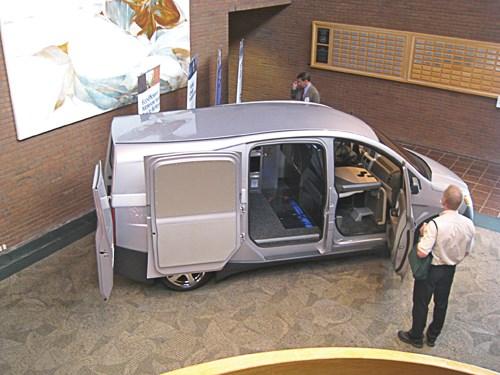 Bright IDEA van