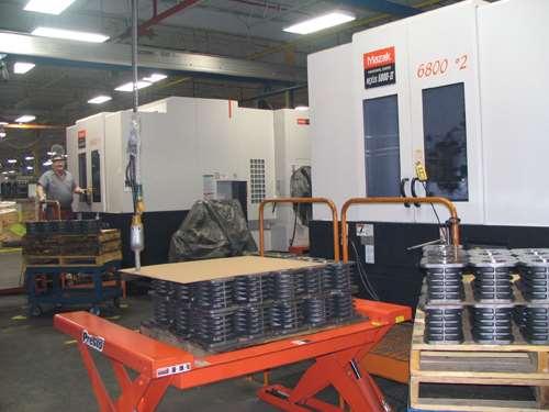 HMCs at Quincy Compressor