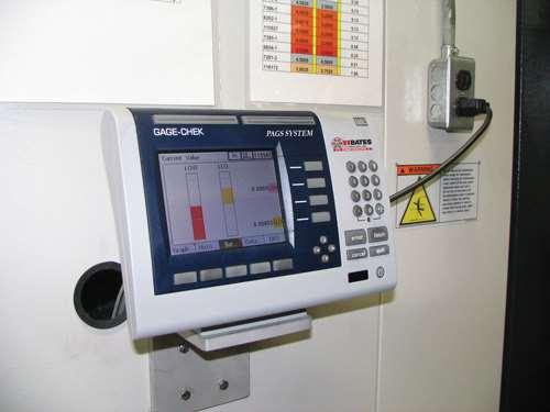 control unit operator screen