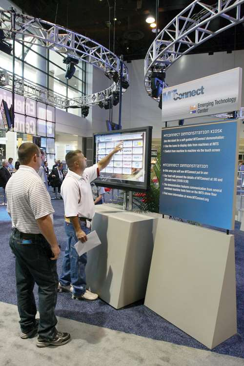 MTConnect demo at IMTS 2008