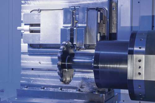 Integral-drive spindle