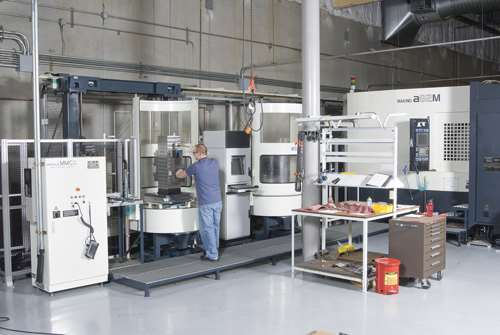 machining cell