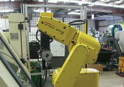 Robot in lean shop