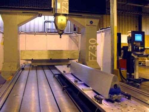 Zimmerman portal mill at Triumph Fabrications