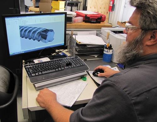 Scott Nicodemus at Tool Studio workstation