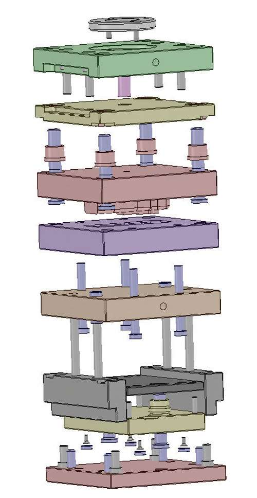 mold assembly design