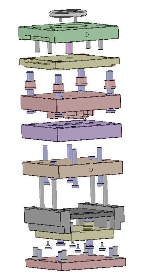 mold assembly design