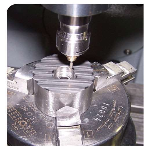 ultrasonic carbide die machining