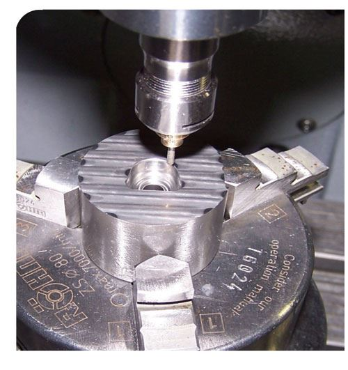 ultrasonic carbide die machining