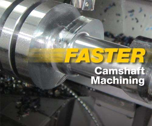 Camshaft machining