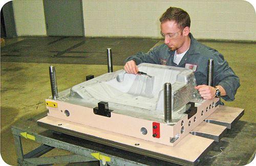 Maintenance of aluminum tooling