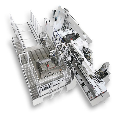 Engel famox automated mold changer