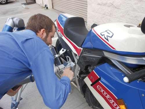 motorcycle heat shield