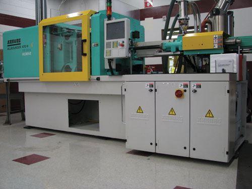 medical molding press