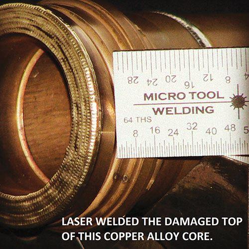 copper alloy core