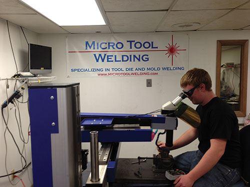 micro tool welding
