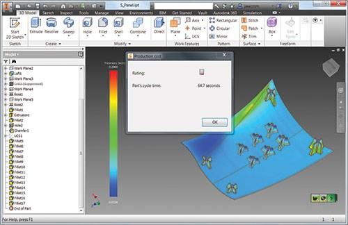 Design–for-manufacturing simulation