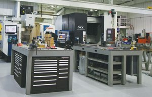 Byrne Tool + Design's shop floor