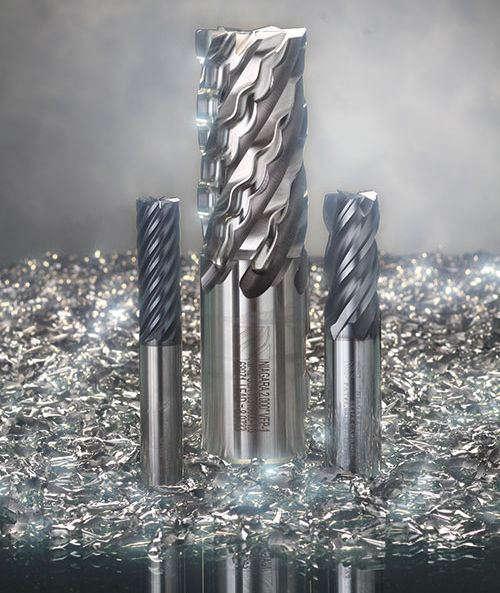 solid carbide multi-flute end mills