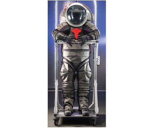 1 NASAs Z 2 Spacesuit Prototype One Of The First Iterations Designed Specifically For Use On Harsh Martian Surface Features A