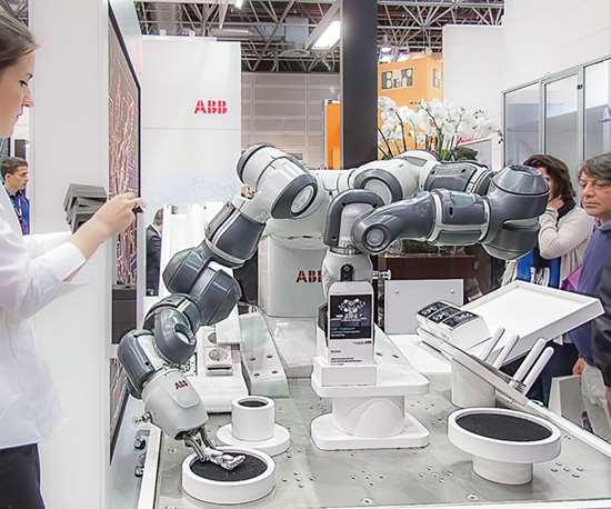 YuMi tabletop collaborative robot